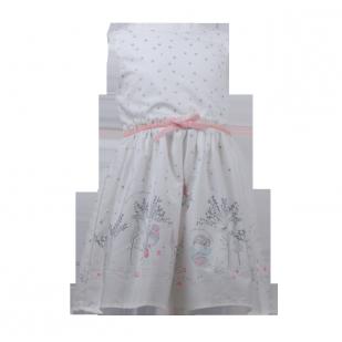 Платье с оригинальным рисунком