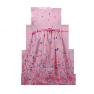 Яркое платье с бабочками