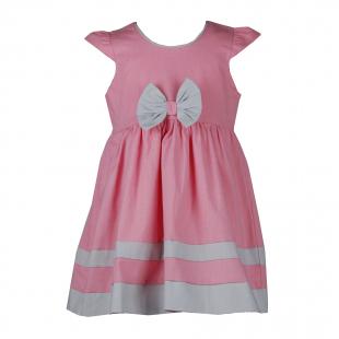 Летнее платье с бантиком