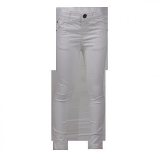 Фото: Белые брюки Zara для девочки (артикул Z 60012-white) - изображение 2