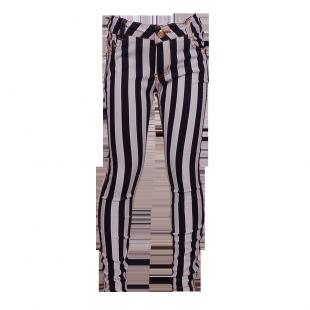 Джинсы в вертикальную полоску