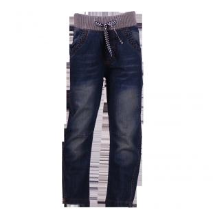 Стильные детские джинсы на резинке