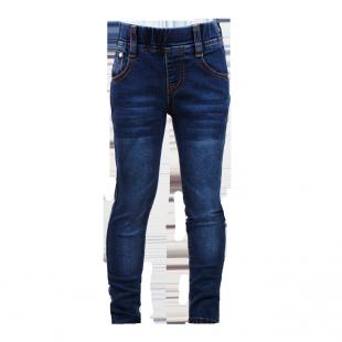 Узкие детские джинсы на резинке