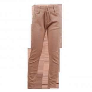 Классические джинсы Zara бежевого цвета для ребенка