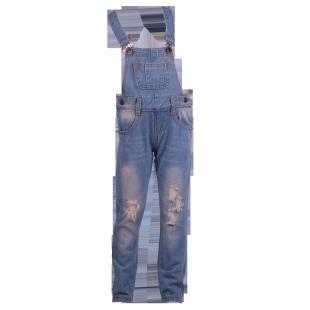 . Детский комбинезон Zara из светлого джинса