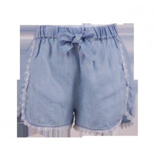 Брендовые шорты для девочки