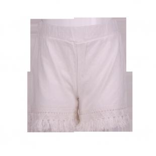 . Белые шорты для девочки Zara