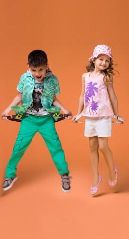 Скажем «нет» скучным оттенкам в летней детской одежде